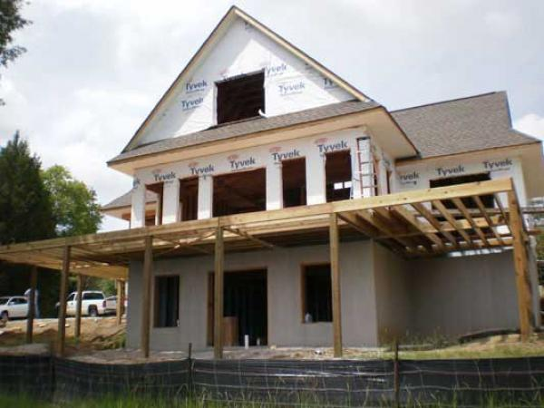 Charlotte contractor services carolina design builders Lakehouse construction