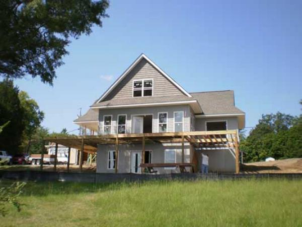 Charlotte contractor services carolina design builders for Lakehouse construction